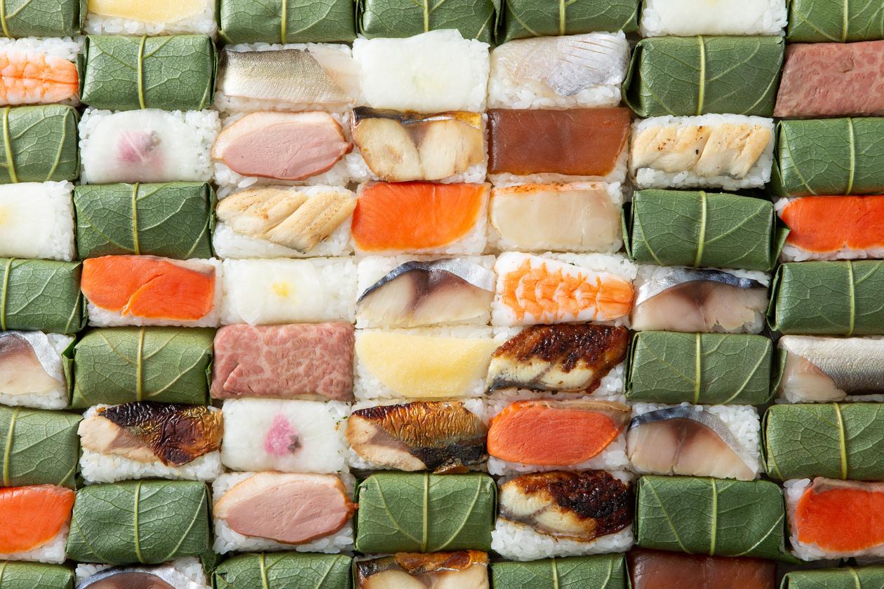 葉 柿 寿司 の